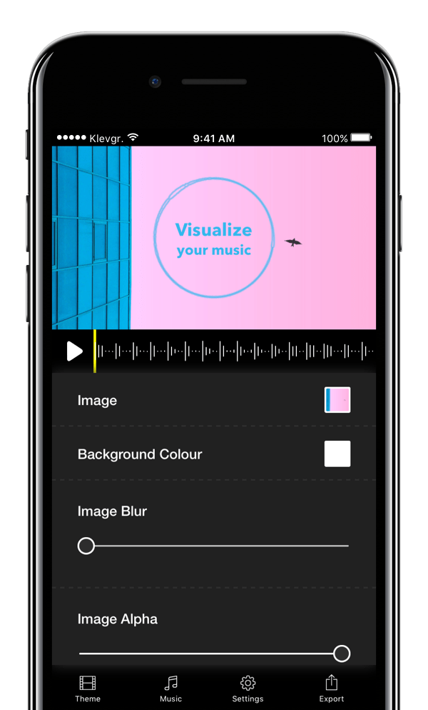 Wizibel – Visualize your music